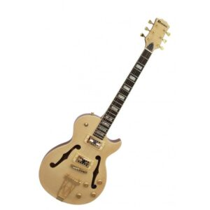 Guitarra Eléctrica de cuerpo hueco DIMAVERY LP-600-E