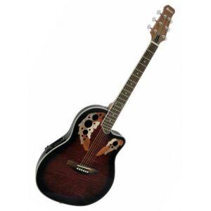 Guitarra Acúsica roundback DIMAVERY OV-500