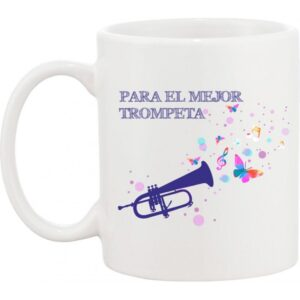 Taza musical trompeta