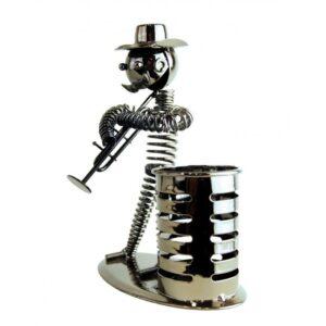 Lapicero de metal trompeta grande